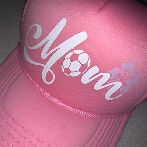 Accessories - ❤️⚽️❤️ Soccer Mom Trucker Hat!